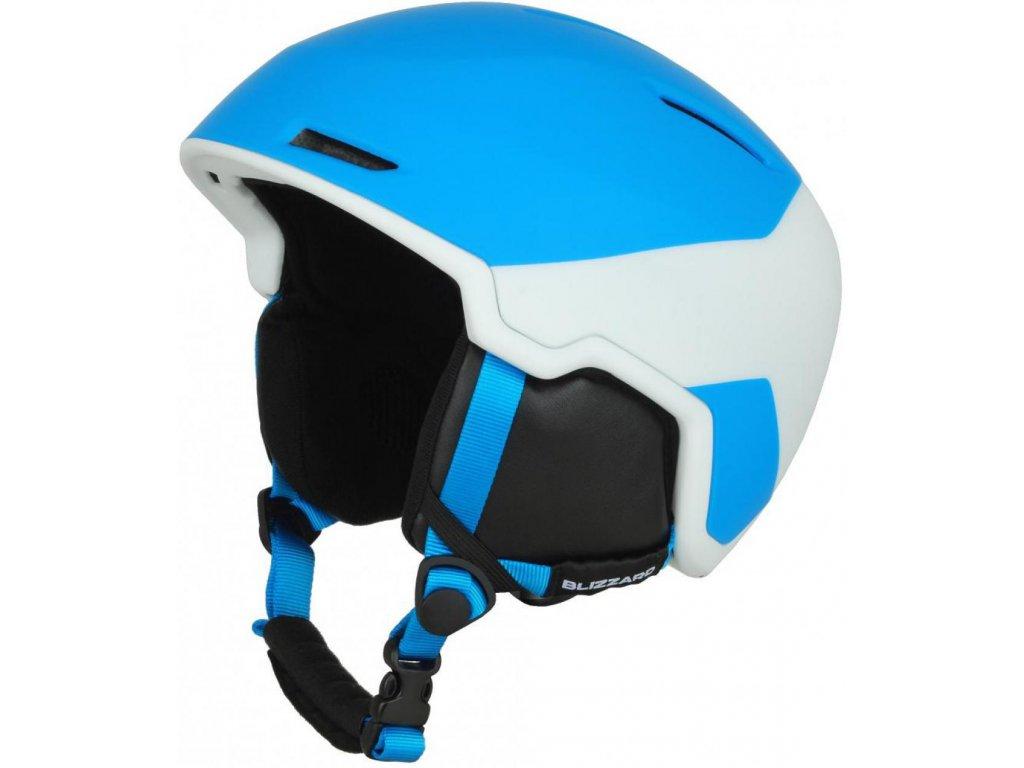 BLIZZARD Viper ski helmet, bright blue matt/white matt