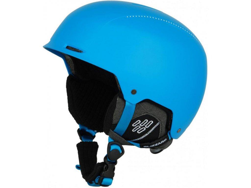 BLIZZARD Guide ski helmet, bright blue matt/white matt