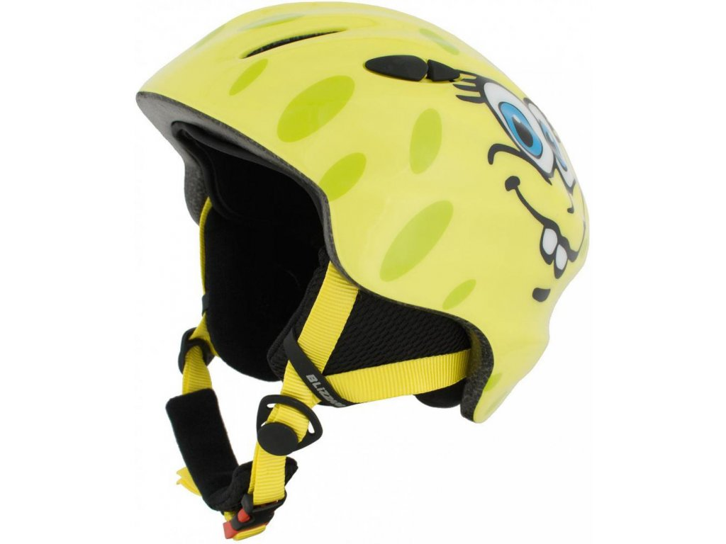 BLIZZARD Magnum ski helmet junior, yellow cheese shiny