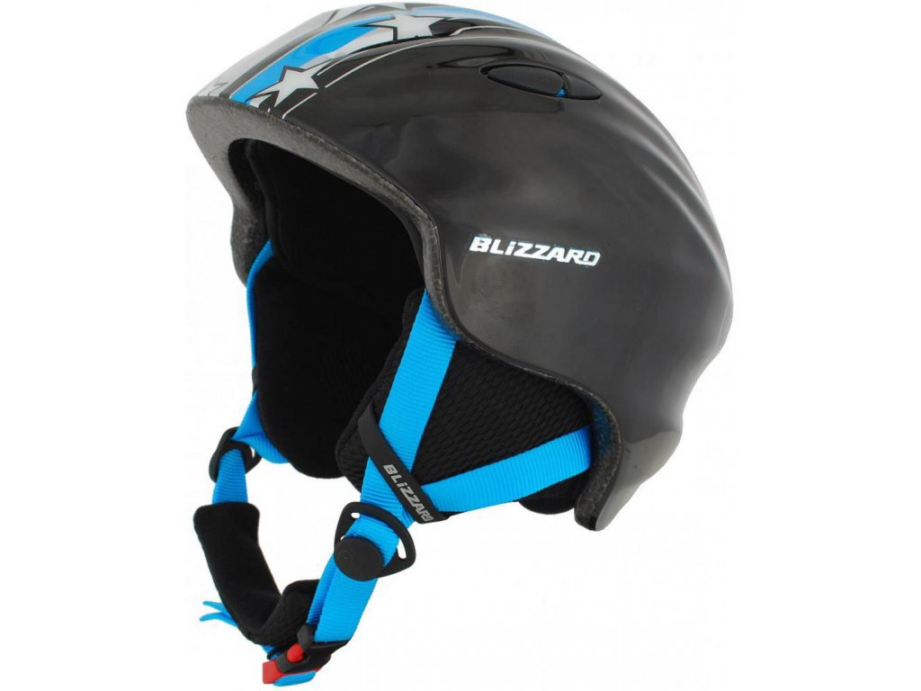 BLIZZARD Magnum ski helmet junior, blue star shiny
