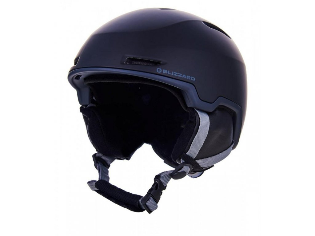 BLIZZARD Viper ski helmet, black matt/grey matt