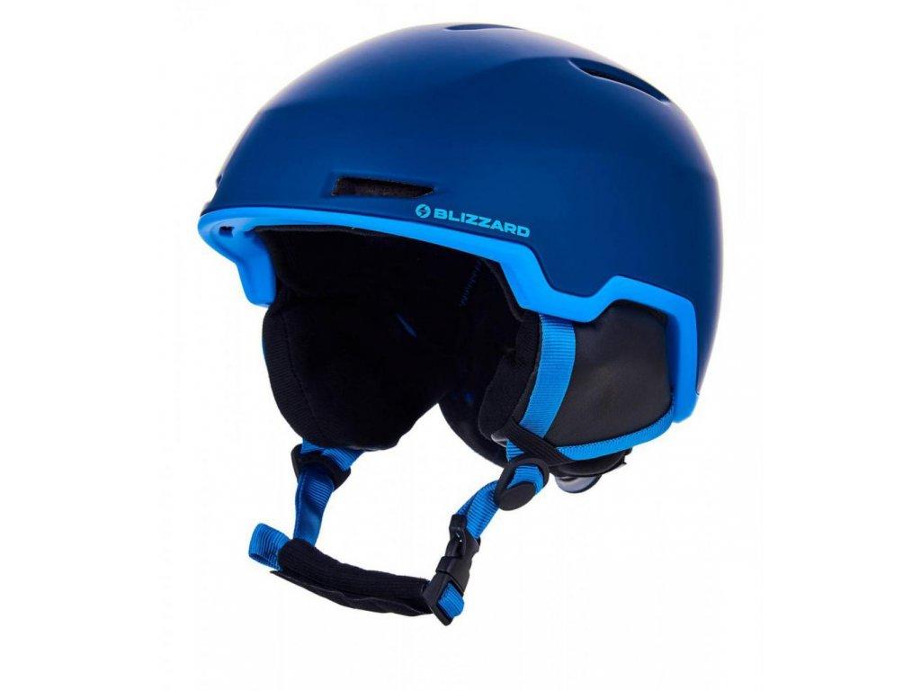 BLIZZARD Viper ski helmet, dark blue matt/bright blue matt