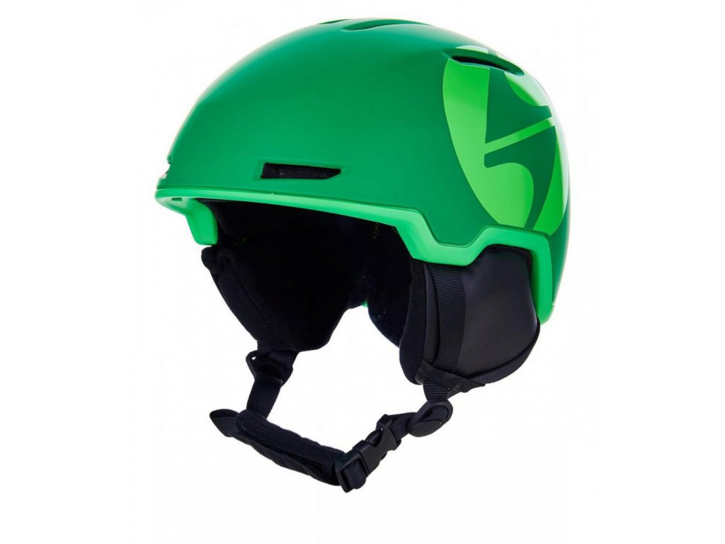 BLIZZARD Viper ski helmet, dark green matt/bright green matt