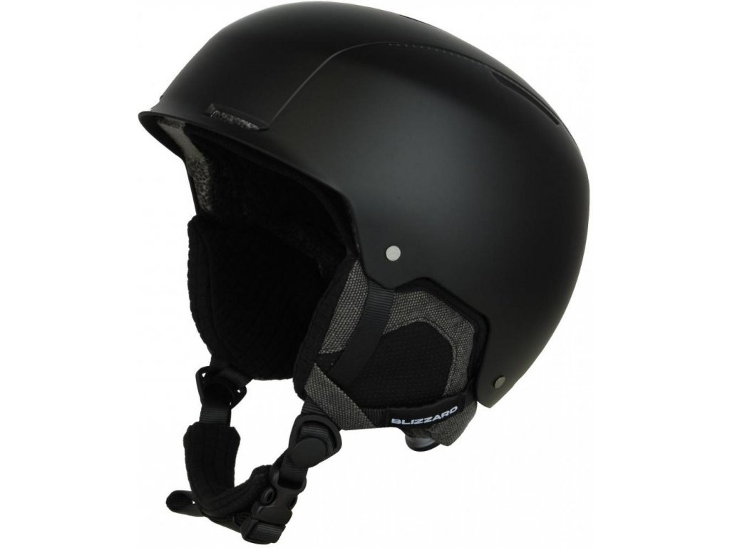 BLIZZARD Guide ski helmet, black matt/grey matt