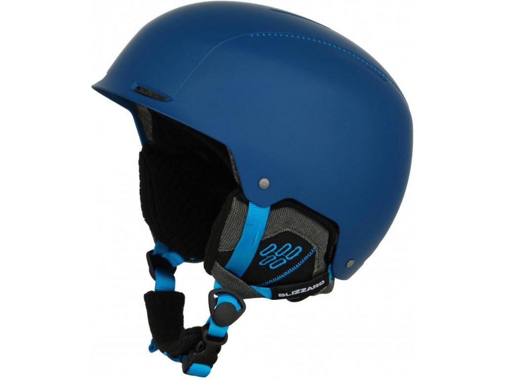 BLIZZARD Guide ski helmet, deep blue matt/bright blue matt
