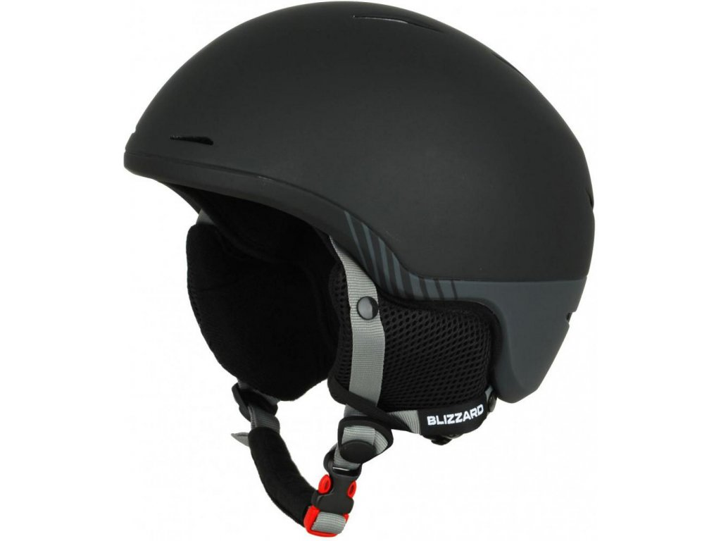 BLIZZARD Speed ski helmet, black matt/grey matt