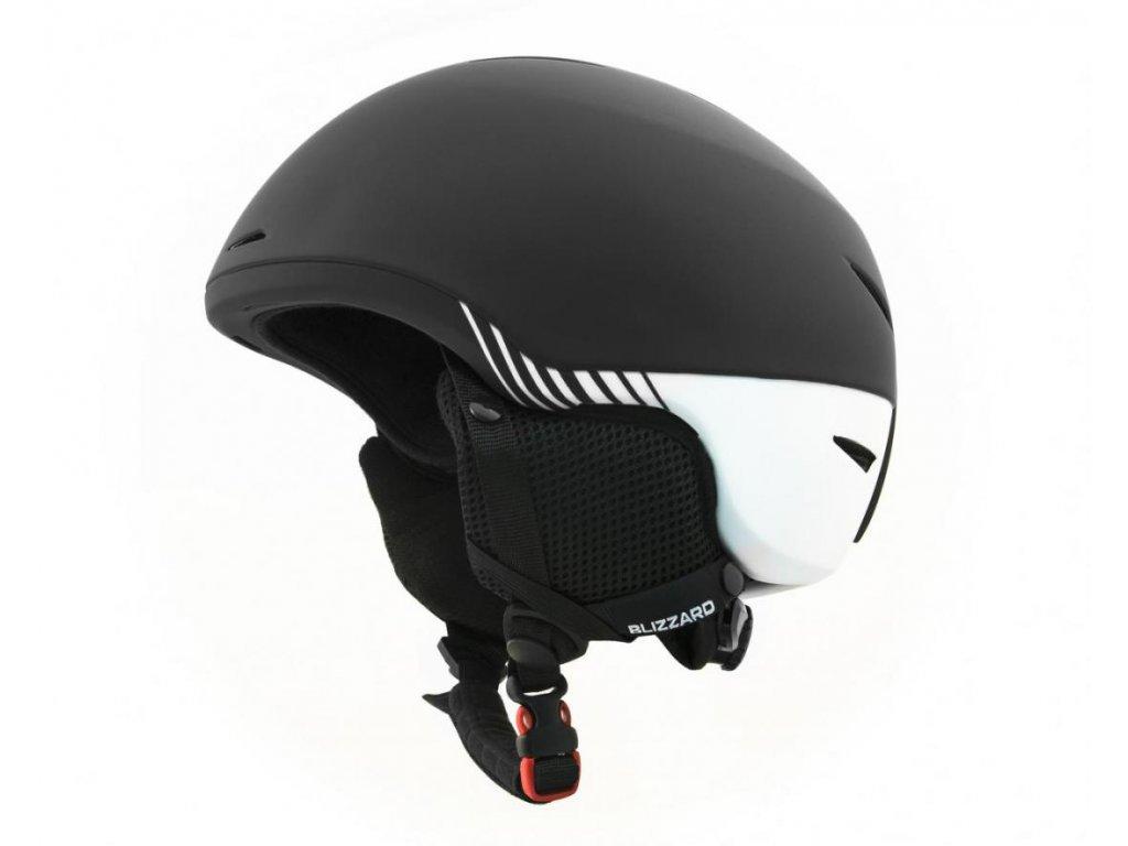 BLIZZARD Speed ski helmet, black matt/white matt