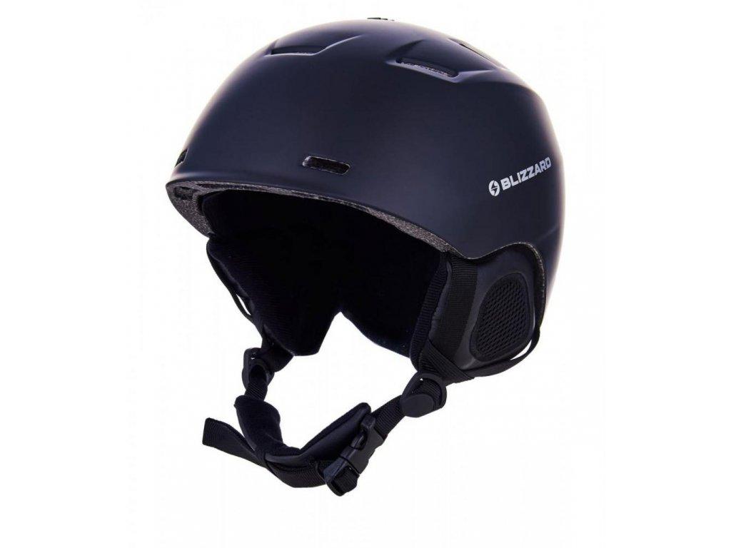 BLIZZARD Storm ski helmet, black matt