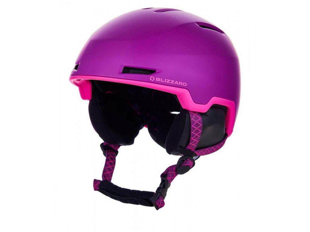 BLIZZARD Viva Viper ski helmet junior, violet matt/pink matt