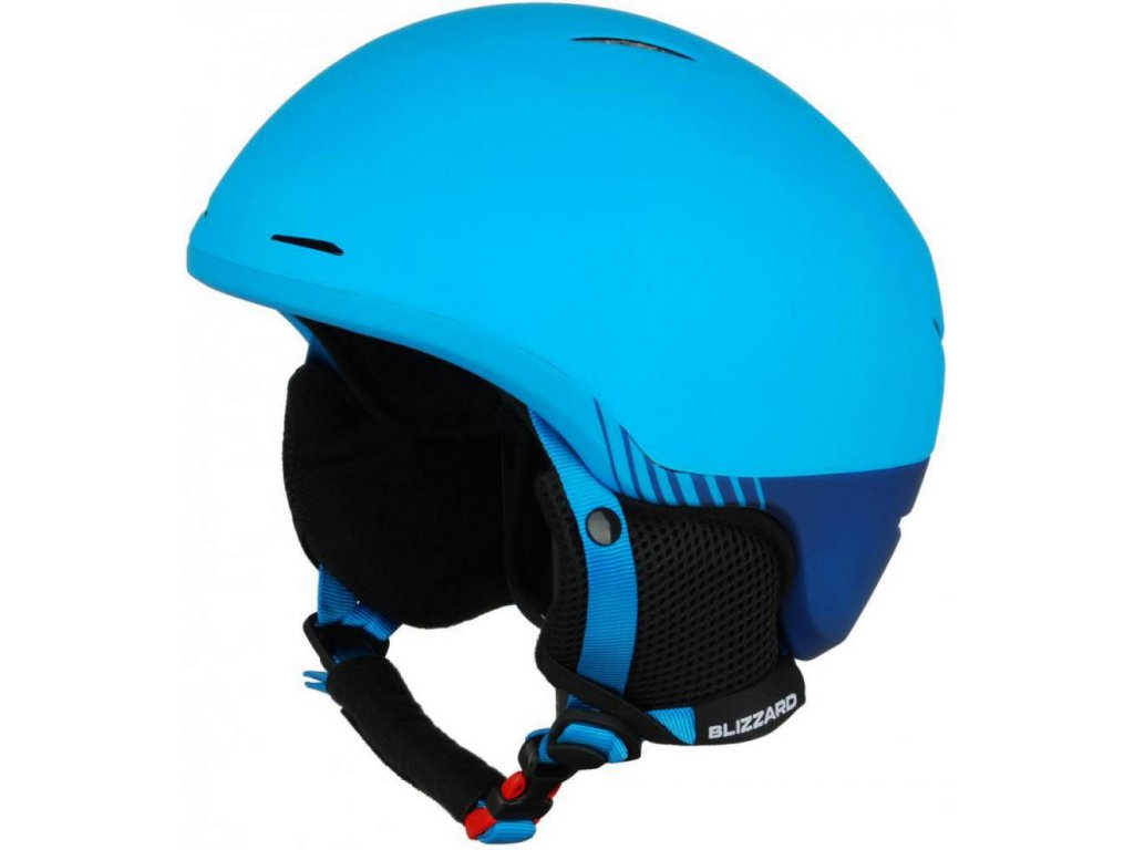 BLIZZARD Speed ski helmet junior, bright blue matt/dark blue matt