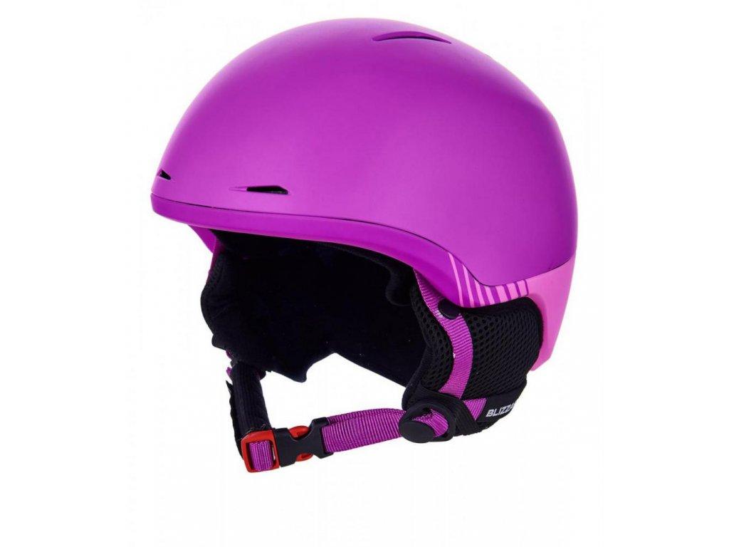BLIZZARD Speed ski helmet junior, violet matt/pink matt
