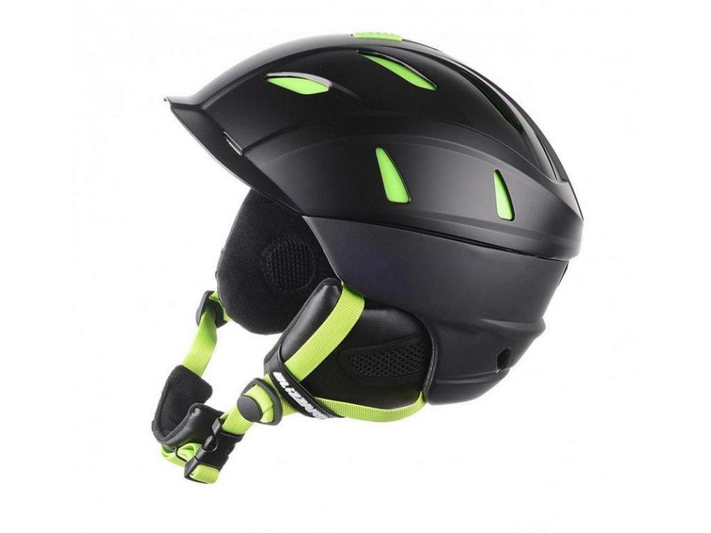 BLIZZARD Power ski helmet, black matt/lime