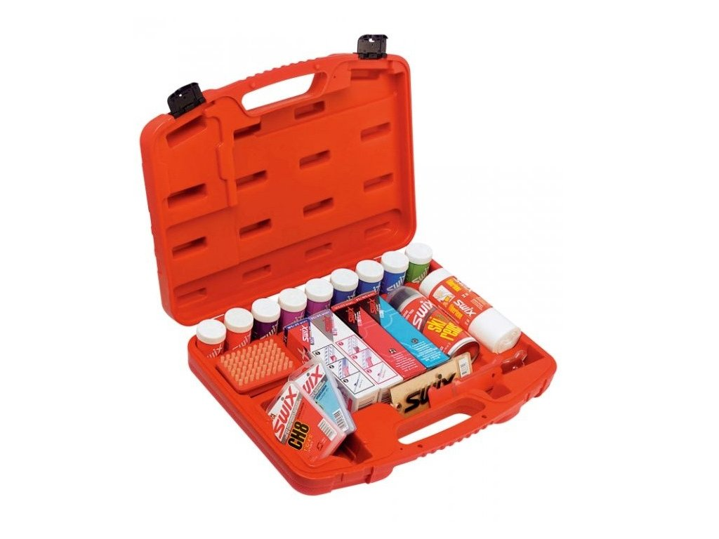 sada vosků SWIX T0063F (20 ks) v kufříku