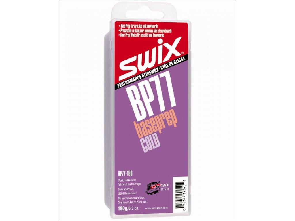 vosk SWIX BP77 180g base preparační cold