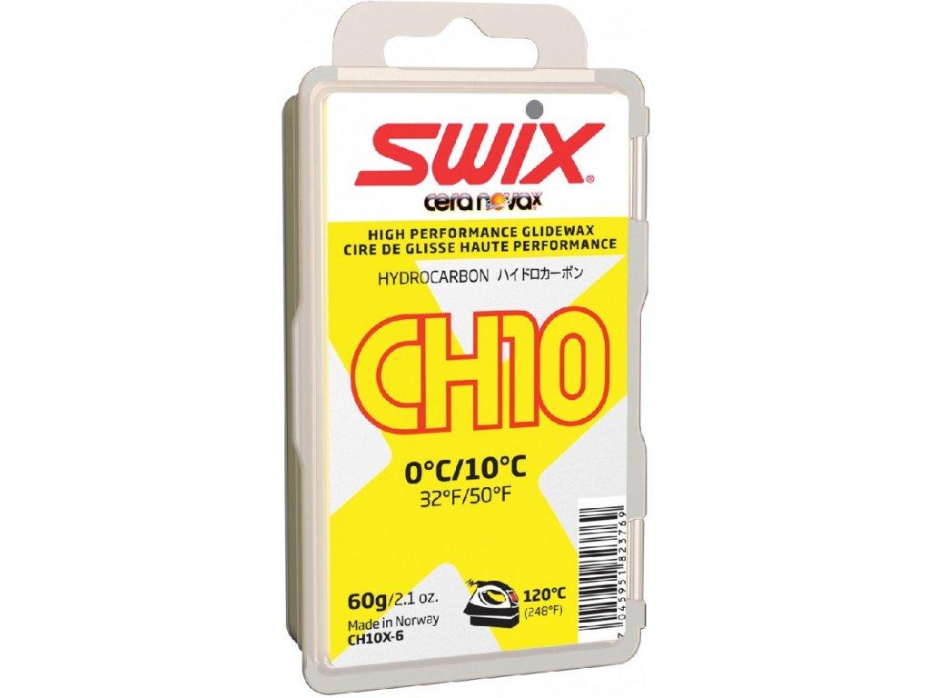 vosk SWIX CH10X 60g žlutý 0°/+10°C