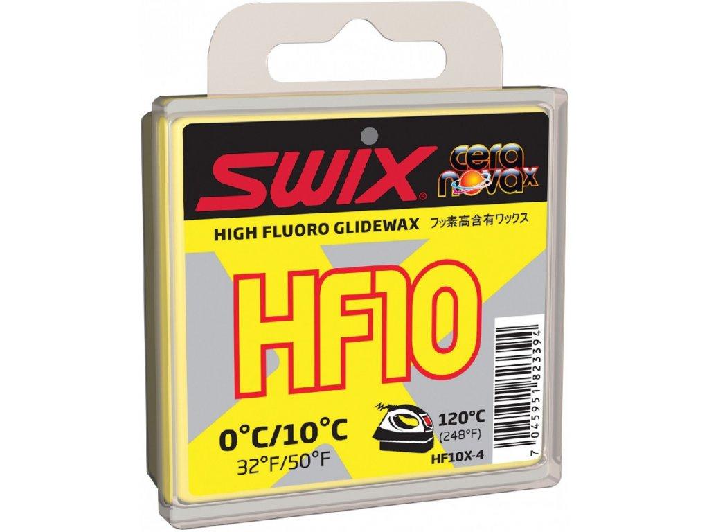 vosk SWIX HF10X 40g 0/+10°C