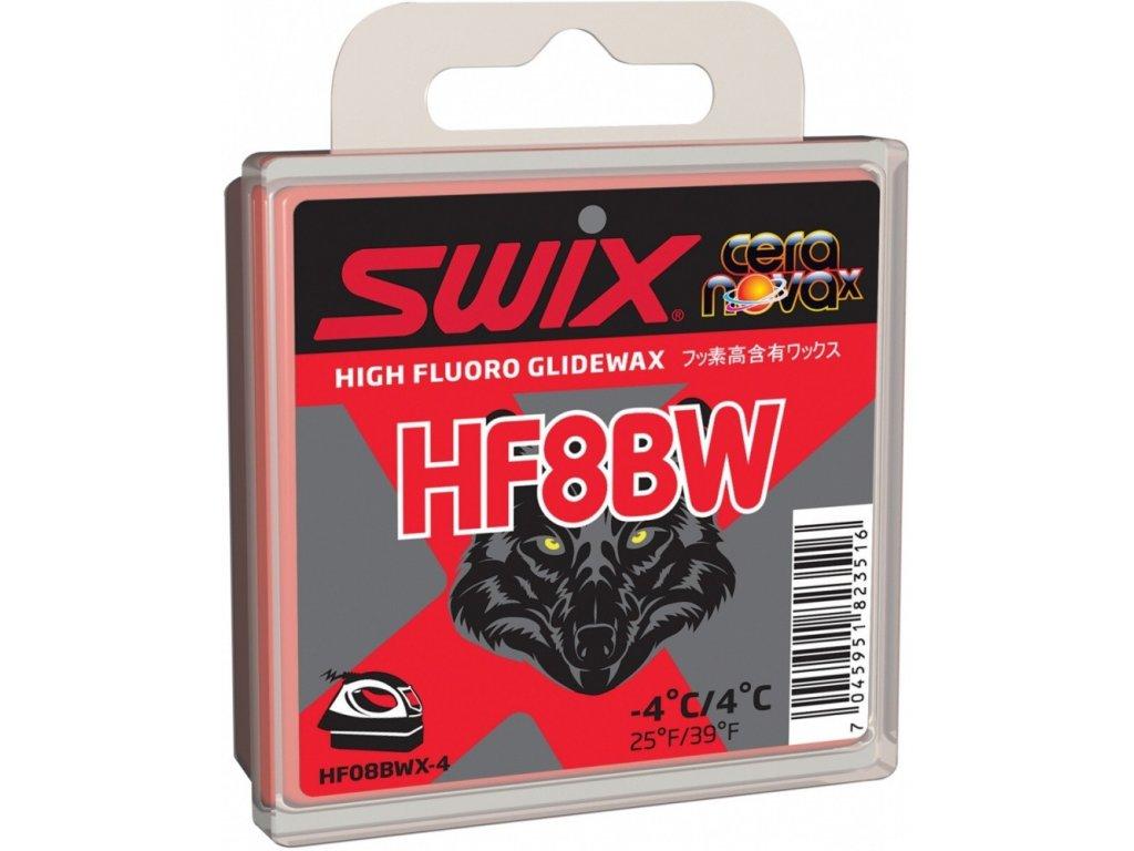 vosk SWIX HF8BWX 40g -4°/+4°C