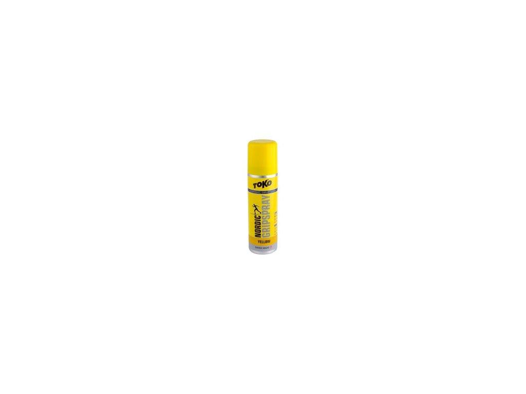 klister TOKO Nordic Gripspray 70ml yellow 0/-2