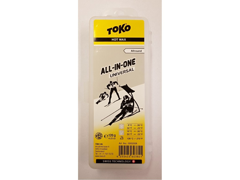 vosk TOKO All-in-one Wax 120g univerzál