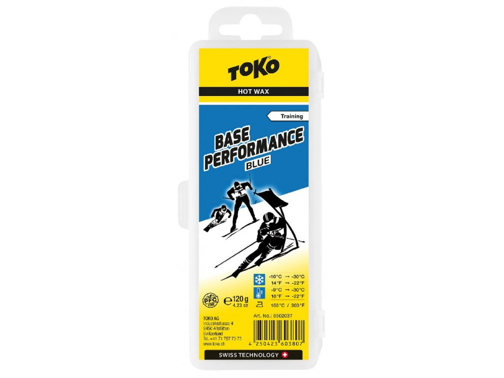 vosk TOKO Base Performance 120g blue -10/-30°C