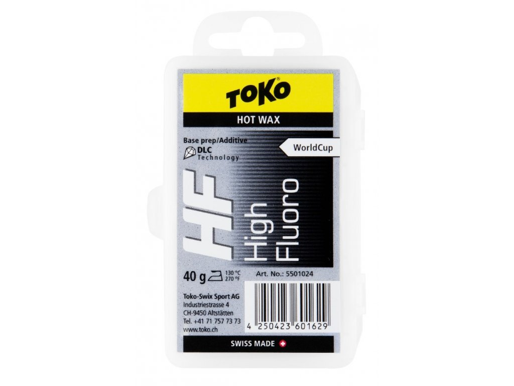 vosk TOKO HF Hot Wax 40g black