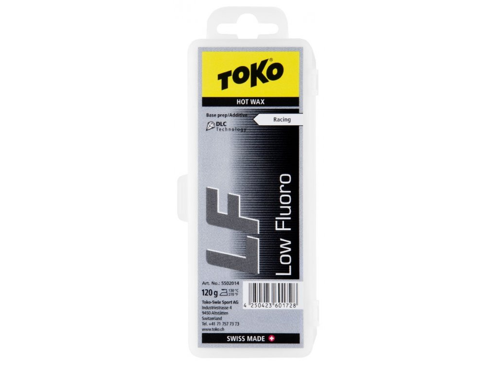vosk TOKO LF Hot Wax 120g black