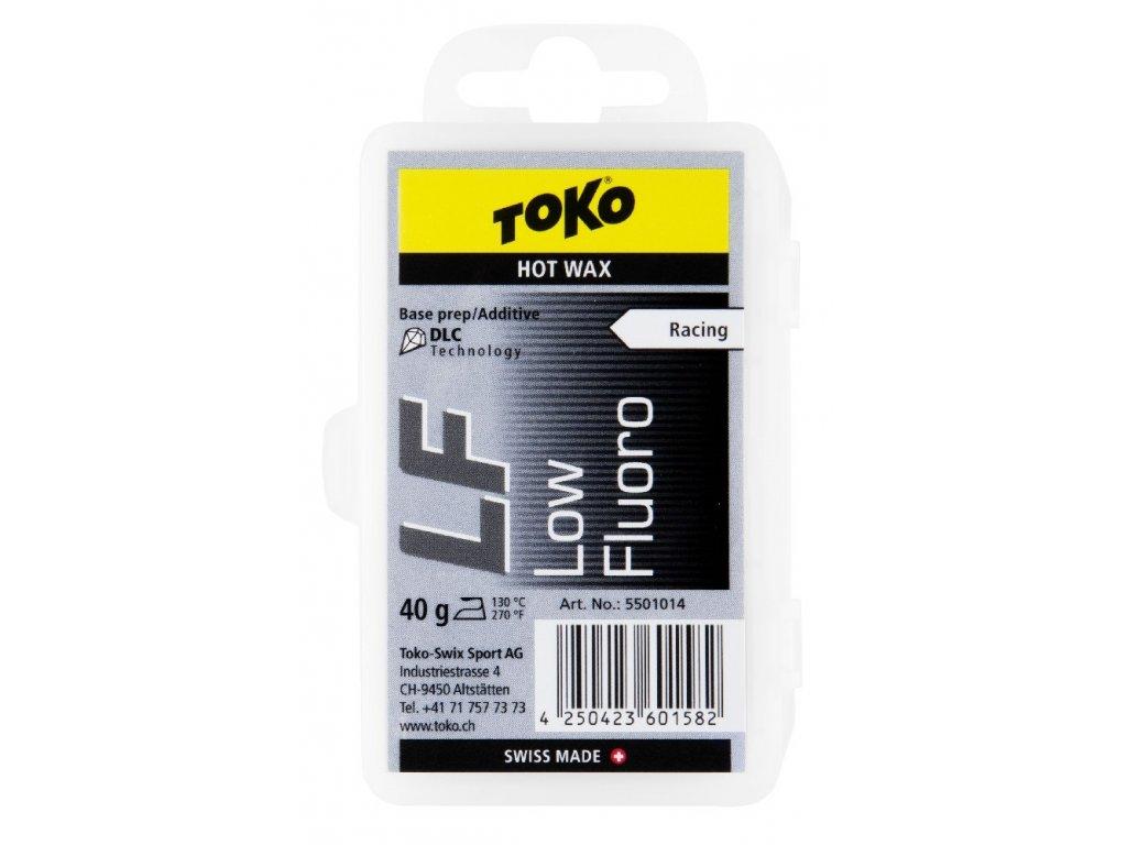 vosk TOKO LF Hot Wax 40g black malé