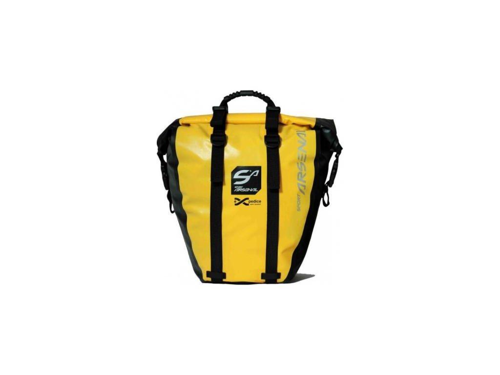 Sport Arsenal art.312 brašna velkoobjemová vodotěsná žlutá