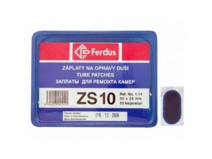 lepení Ferdus záplaty ZS10 50x25mm - 50ks