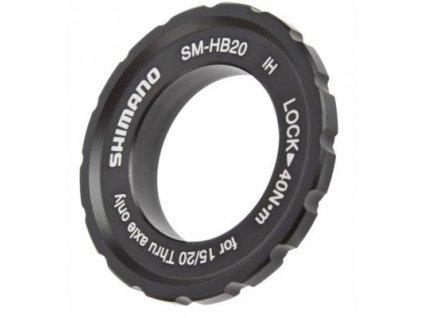 adaptér Shimano C-lock SM-HB20 matice 15/20mm