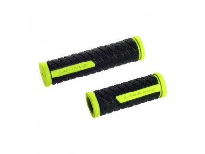 gripy LONGUS Grid Shift gumové černo-svítivě žluté