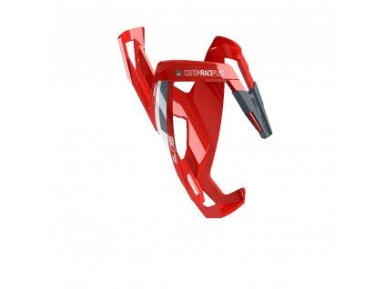 košík na láhev ELITE Custom Race Plus new red/grey