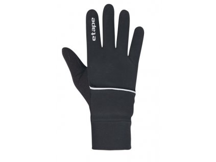 Etape - pánské rukavice COVER WS+, černá