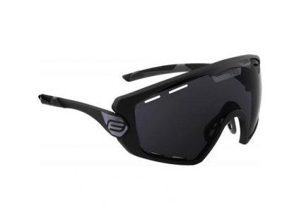brýle FORCE OMBRO PLUS černé mat., černá skla