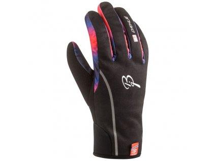 rukavice BJ Warmest černo/modro/oranžové