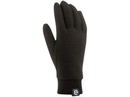rukavice BJ Wool Liner černé 18/19