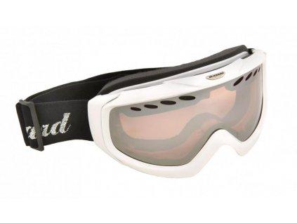 BLIZZARD Ski Gog. 906 LDAVZ, extra white shiny, rosa2, silver mirror