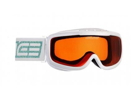 lyž.brýle SALICE 778A Jr. 6-10 let white/orange