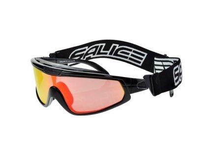 lyž.brýle SALICE běžecké 915RW black/RW red