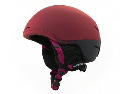 BLIZZARD Speed ski helmet junior, bordeaux matt/grey matt