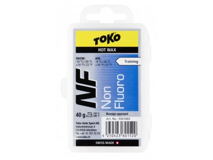 vosk TOKO NF Hot Wax blue 40g -10/-30°C