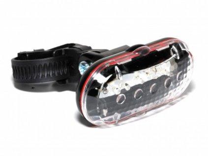 Světlo př. TL-20 F 5 LED černá/čiré-sklo