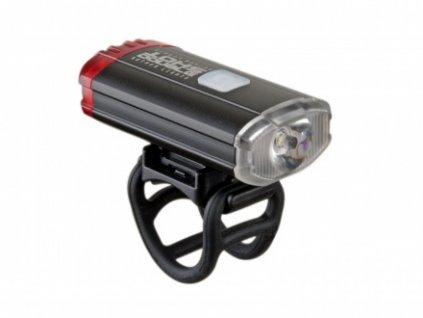Světlo př. & zad. A-DoubleShot 250 / 12 lm USB černá