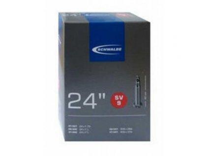 """duše Schwalbe 24"""" SV9 28/37-540 galuskový ventilek"""