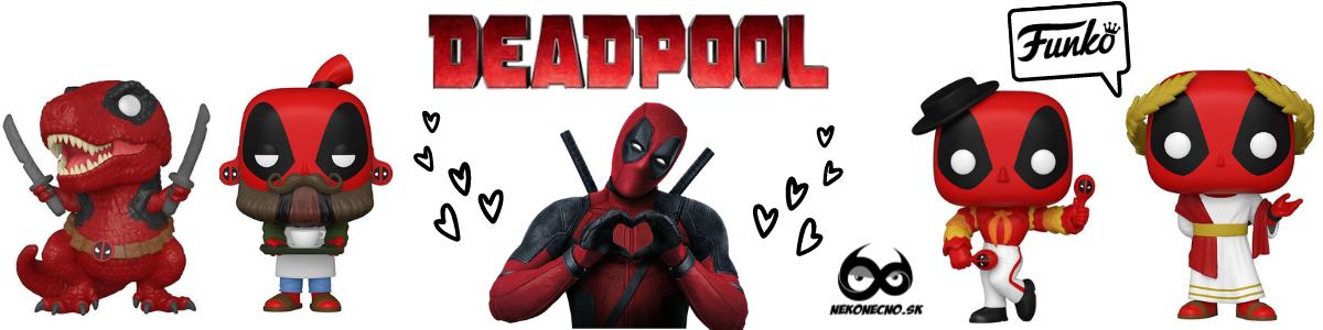 Deadpool, nové Funko PoP figúrky