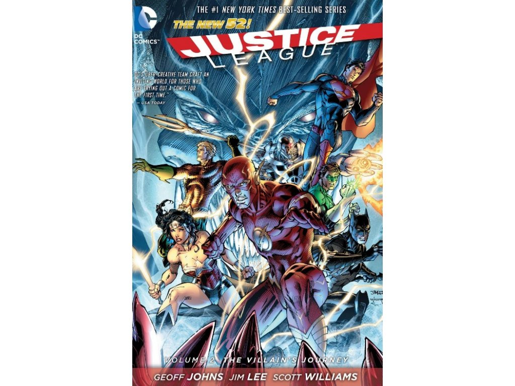 Justice League 2: The Villain's Journey (The New 52)