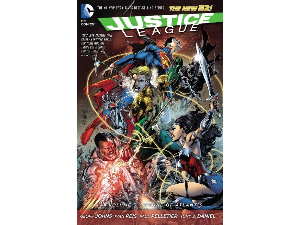 Justice League 3: Throne of Atlantis (The New 52)