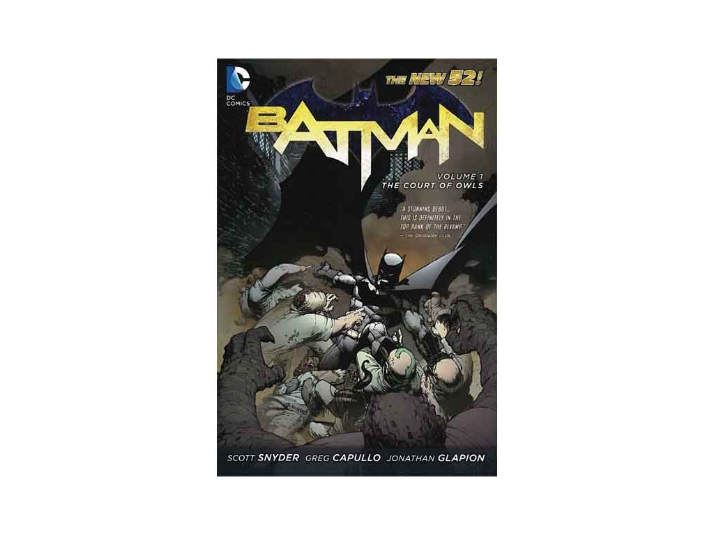 Batman 1: The Court of Owls (The New 52)