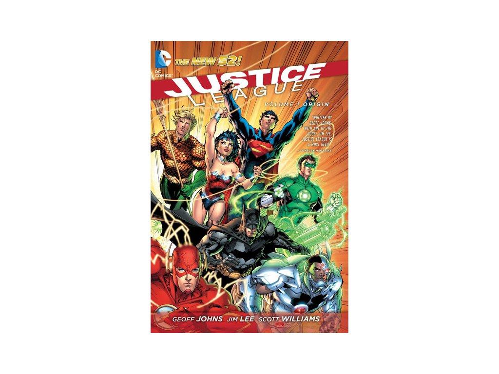 Justice League 1: Origin (The New 52)