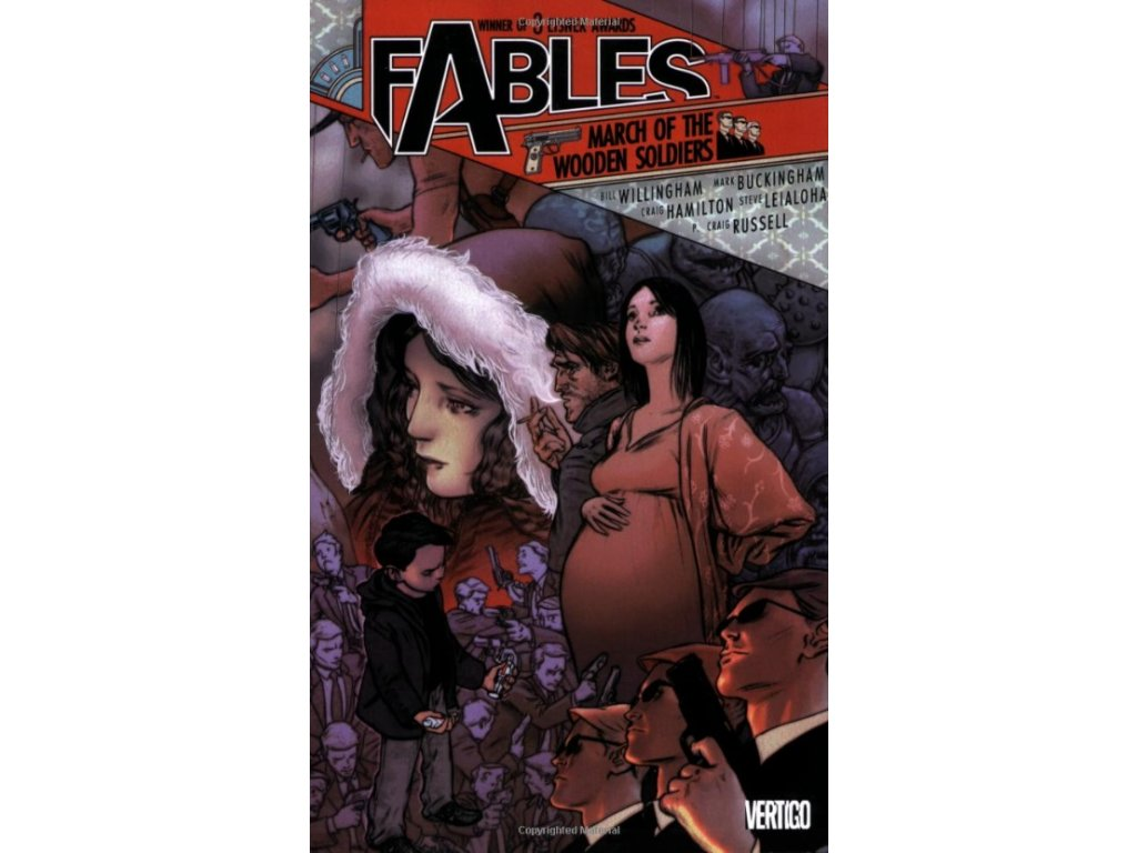 Fables 04 - March of the Wooden Soldiers